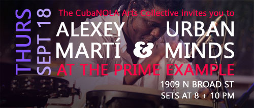 Alexey Marti & Urban Minds at Prime Example